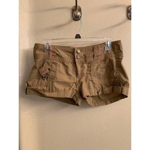 Almost Famous tan shorts